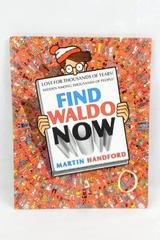 Find Waldo Now Martin Handford Hardcover 1988 First Edition Book