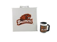 Lot of 2 OSU Oregon State University Beavers Souvenirs Mug Seat Cushion