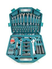 Tool Source 110 Piece Hand Tool Set With Teal Case Screws Nails