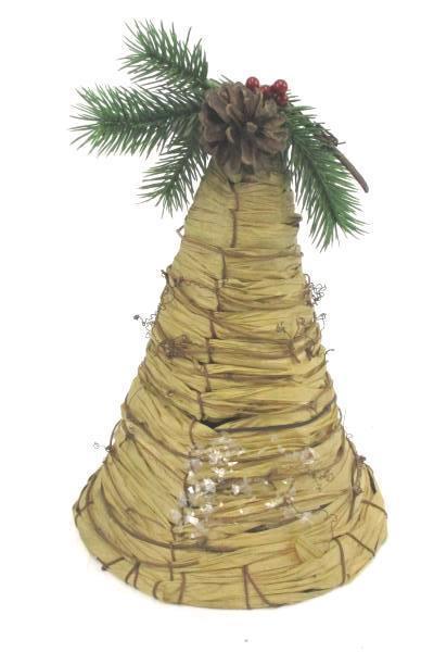 Woodland Bells Set of 3 Christmas Indoor Outdoor Decoration Hanging