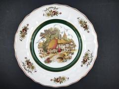 """Vintage Princess House Decorative Wall Plate By Grindley Of Stoke English 10"""""""