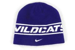 Nike Linfield University Wildcats Beanie Hat Purple One Size Embroidered Swoosh