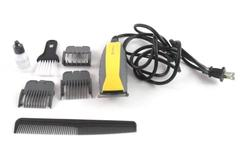 Remington 7 Piece Haircutting Kit HC-5855 Black Clippers Attachments Comb Brush