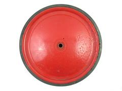 Vintage Official Soap Box Derby Tire Wheel Red Metal Collectible Replacement