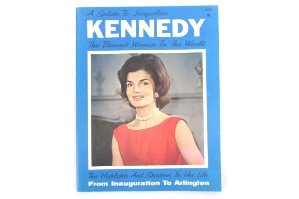 A Salute to Jacqueline Kennedy: The Bravest Woman in the World Vintage Book 1964