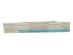 4 Issues of Oregon Historical Quarterly 1983 Fall Winter Spring summer