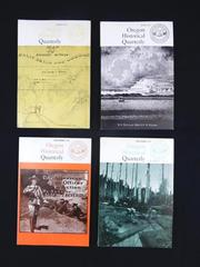 Lot of 4 Issues of Oregon Historical Quarterly 1971 March June Sept Dec