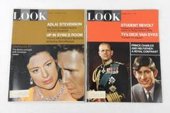Lot of 2 Vintage Look Magazines British Royalty Covers 1965 1967 Prince Charles