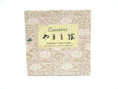 Set Of 6 Yamato-e Picture Coasters The Habit And Custom Of Old Kyoto