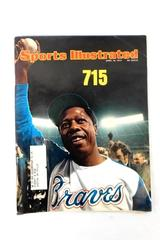 Vintage Sports Illustrated April 15th 1974 Hank Aaron Hits 715 Home Runs Braves