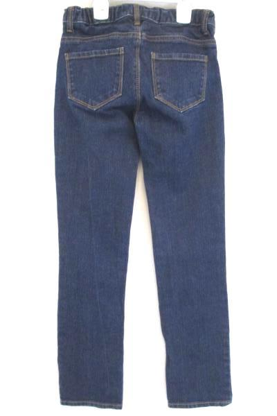 B'Gosh GIRLS Size 12 Skinny Dark Wash Blue Adjustable Waist Jeans Size 12