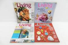 Lot of 4 Martha Stewart Living Magazines 2013 March November September December