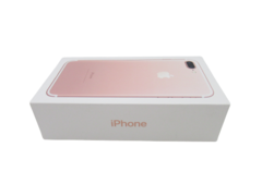 Apple Iphone 7 Plus Retail Box Rose Gold 32GB Manual Stickers Charger Head
