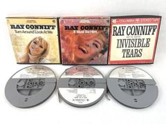 Lot of 3 Vintage Reel To Reel 4Track Ray Conniff Columbia Audio Not Tested