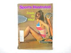 Vintage Sports Illustrated Swimsuit Edition 1977 Zowie, it's Maui! Lena Kansbod