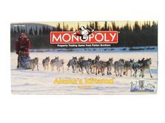 Parker Brothers Alaska Iditarod Edition Monopoloy Game 1998
