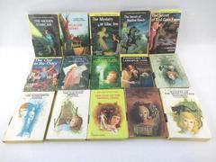 Lot of 15 Vintage Nancy Drew Mystery Books By Carolyn Keene Grosset & Dunlap