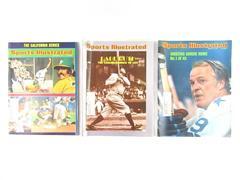 Lot of 3 Vintage Sports Illustrated 1974 Baseball Gordie Howe Babe Ruth