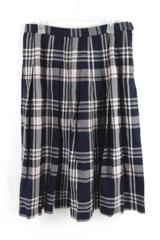 Pendleton Petite Women's Blue Pink Plaid Skirt Women's Size 16 Pleated