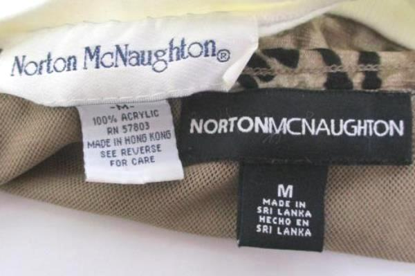 Women's Outfit Idea- Norton McNaughton Skirt & Faux Layered Knit Sweater Sz M