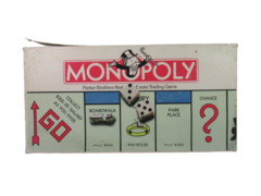 Vintage 1985 Parker Brothers Monopoly Board Game Complete Number 0009