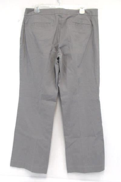 Fashion Bug Grey Slacks Trouser Dress Pants Size 14 Wide Leg Career