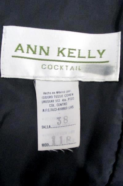 Ann Kelly Cocktail Size 8 Spaghetti Strap Black Maxi Dress Lined Formal Women's