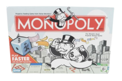 Parker Brothers MONOPOLY Board Game with Speed Die 2007