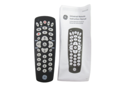 GE Universal Remote 24933 With Instruction Manual 4 Device