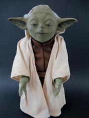 Star Wars Hasbro Call Upon Yoda Interactive Figurine 12in 2005 Not Working