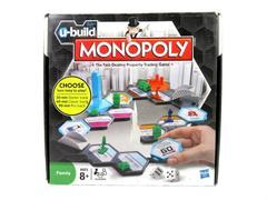 Hasbro U-Build Monopoly Make Your Own Board Choose Game Length 2010