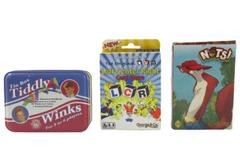 Lot of 3 Family Games Nuts Tiddly Winks Left Center Right