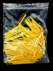 Lot of 100 K'nex Yellow Rods 2 3/8in 86 mm Standard Bulk Parts 90953 Cleaned