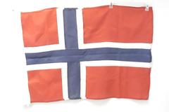 Norway Flag Red Blue White Cross Rectangular Rope To Hang Yard Home Decor