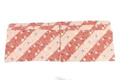 Set of 6 Floral Cloth Placemats Washable Summer Hosting Red Tropical