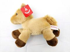 Aurora World Mini Flopsie Prancer Plush Toy 8in Tan Horse with Tag