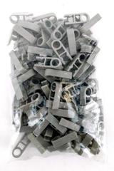 Lot of 100 K'NEX Clip with Hole End Grey 1 Position Bulk Replacement Parts