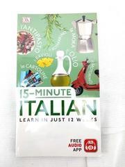DK 15-minute Italian Book Learn in Just 12 Weeks! New in Wrap