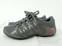 Nike Musique IV Dance Cheerleading Shoes Gray Silver Pink Women's Size 7.5