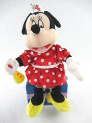 Disney Talking Minnie Mouse Figurine Megaphone Not Working For Parts or Repair