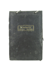 Vintage Scholastic Loose Leaf Notebook With Recipes