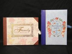 Lot of 2 Photograph Albums Inspired By Angels Our Family History Record Book