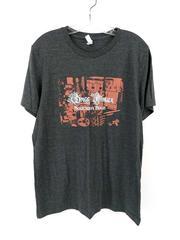 GREGG ALLMAN T-Shirt Southern Blood Heathered Gray Adult Size Large