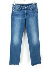 Lucky Brand Sweet Midrise Straight Jeans Medium Wash Indigo Denim Women's 6/28