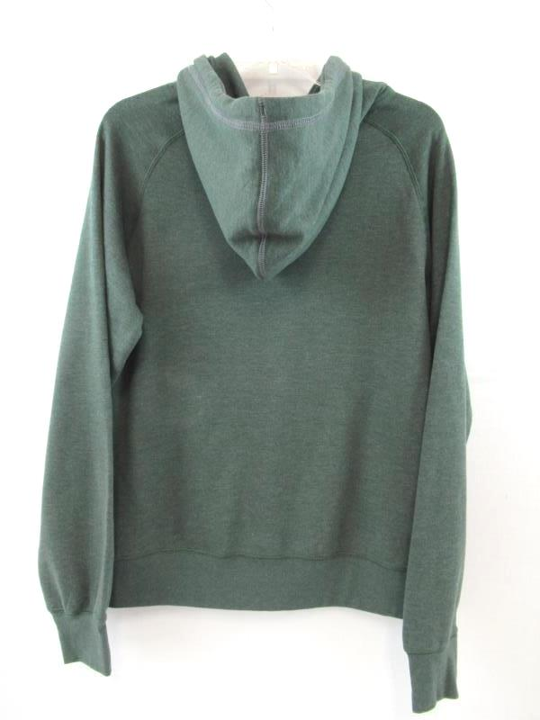 Champion Elite Oregon Ducks Hoodie Sweatshirt Women's Size M Green Pocket