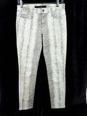 Joe's Jeans High Water Skinny in Mint Snake Wild Snakeskin Animal Print W27