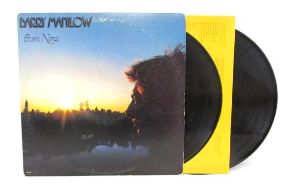 Lot of 3 Barry Manilow Vinyl LP Even Now Live Britain Here Comes Night Record