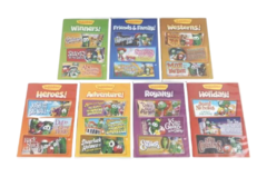 Lot of 7 VeggieTales DVD Set Volume 3 - 9 Holiday Royalty Adventure Heroes