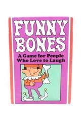 Vintage 1960's Funny Bones Card Game Parker Brothers General Mills Instructions