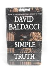 The Simple Truth David Baldacci 1998 4 Cassettes Voiced By Tony Roberts
